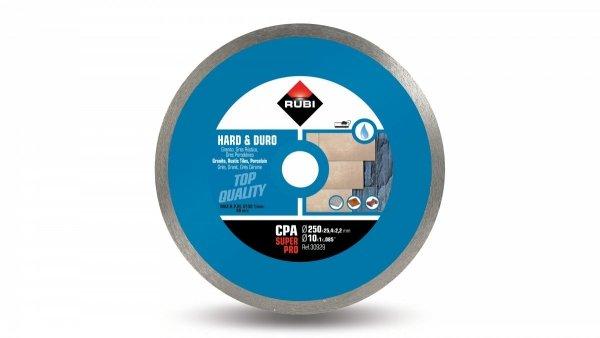 Tarcza diamentowa do materiałów twardych Rubi CPA 250 SUPERPRO (30929)