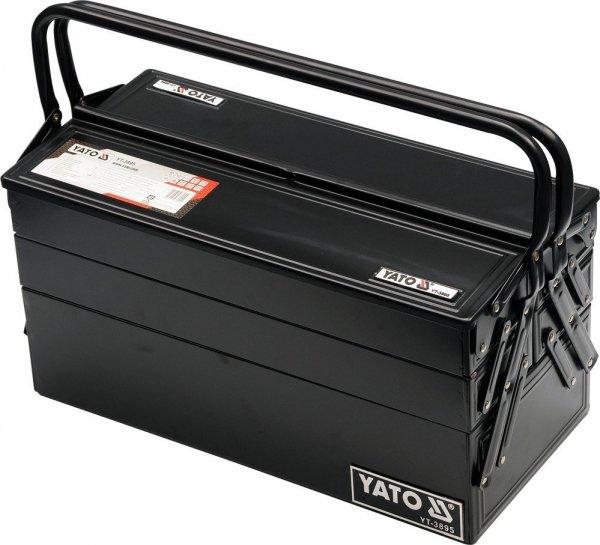 Skrzynka z narzędziami 62 szt. YATO YT-3895