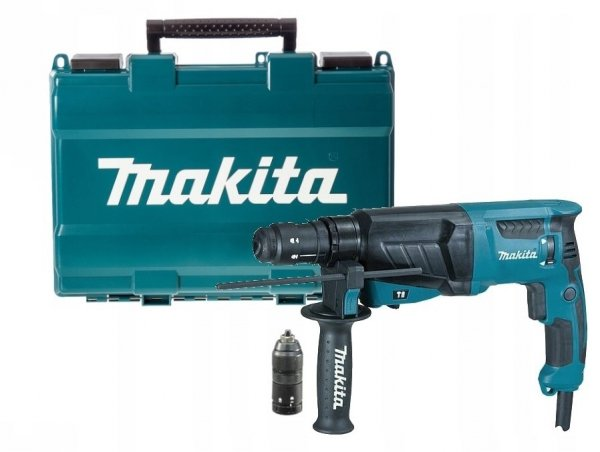 Młotowiertarka Makita HR2630T z opcją kucia