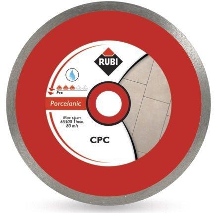 Rubi CPC 250 PRO (30959), Tarcza diamentowa do gresu porcelanowego