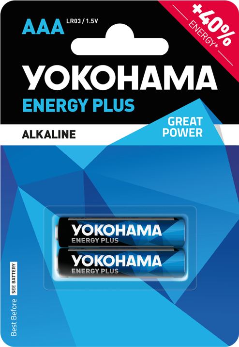 Bateria alkaiczna Yokohama AAA LR03 1szt.