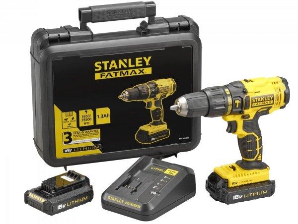 Wiertarko - wkrętarka udarowa Stanley FATMAX FMC626C2K 18V 2x1.3 Ah