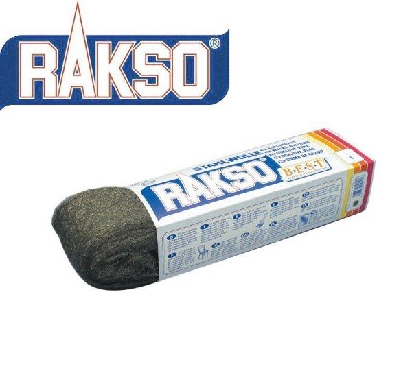 Wełna stalowa Stahlwolle RAKSO 200g granulacja 2