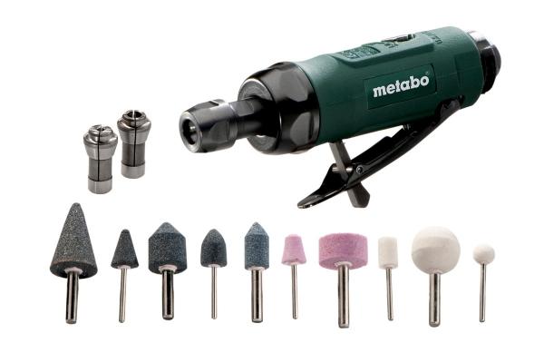 Szlifierka prosta pneumatyczna Metabo DG 25 SET 604116500