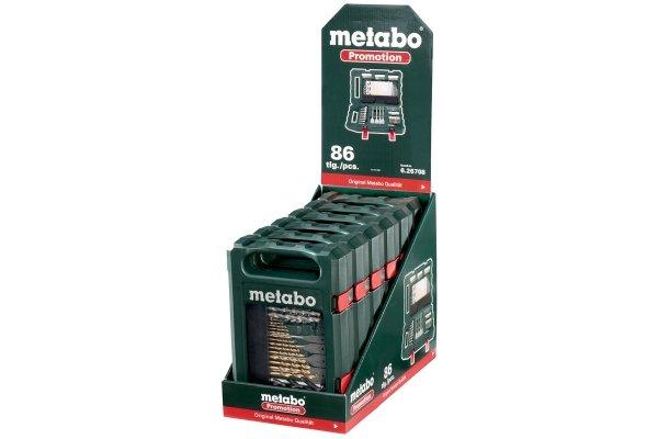 """Zestaw akcesoriów Metabo """"SP"""", 86 elementów (626708000)"""