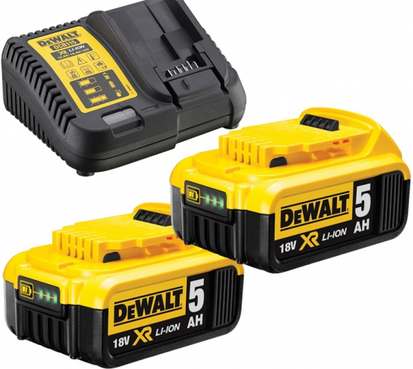 Zestaw Combo 3 narzędzi akumulatorowych DeWalt DCK383P2T Li-Ion XR 18V