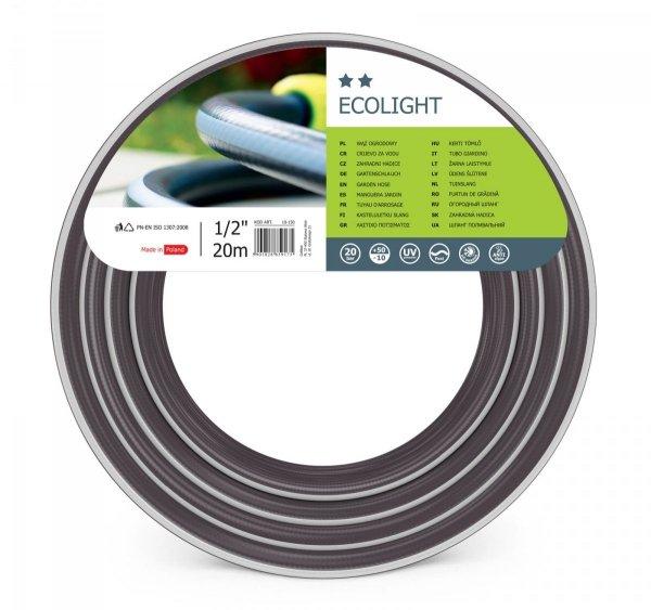 """Wąż ogrodowy Cellfast ECOLIGHT 1/2"""" 20m 10-150"""