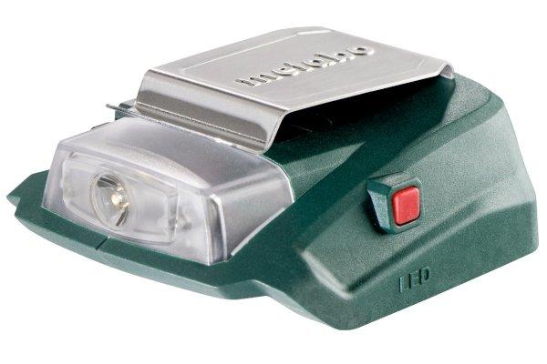 Adapter USB do akumulatorów Metabo PA 14.4-18 LED-USB 14,4-18V 600288000