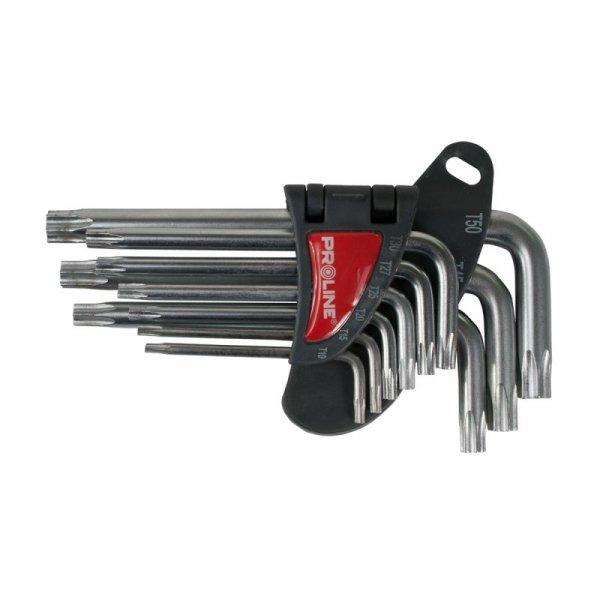 Zestaw kluczy TORX Proline 48339 T10-T50 9szt.