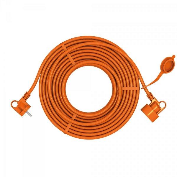 Przedłużacz ogrodowy uniwersalny 2X1,0 H05VV-F (PVC) prosty ACAR EASY 40m