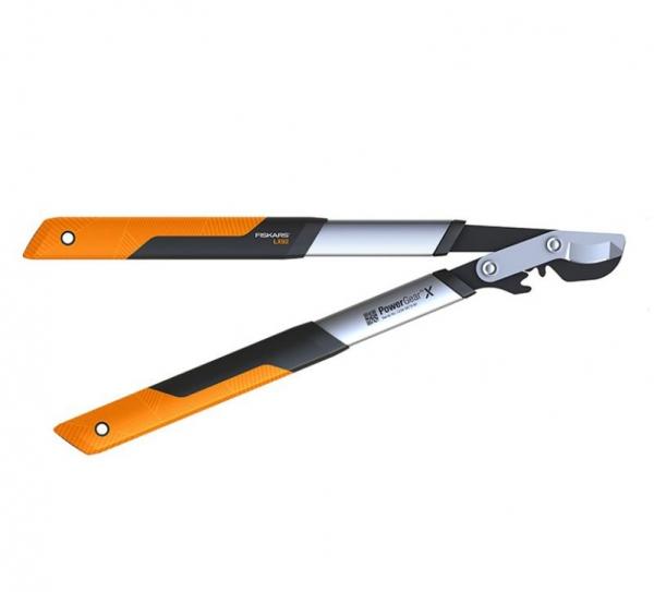Sekator dźwigniowy nożycowy Fiskars S PowerGearX 1020186