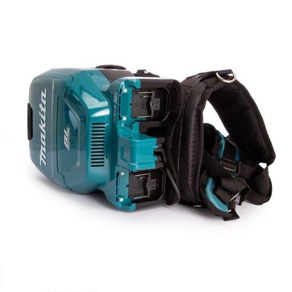 Odkurzacz akumulatorowy plecakowy Makita DVC260Z 2x18V