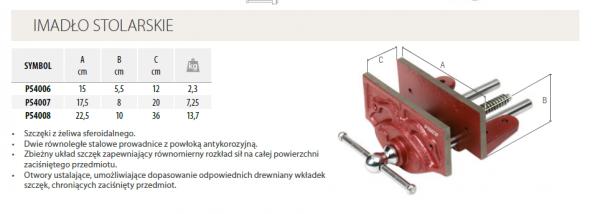 Imadło stolarskie PIHER 15 CM  P54006