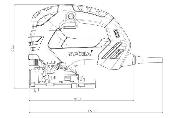 Wyrzynarka z elektroniką Metabo STEB 140 (601402000)