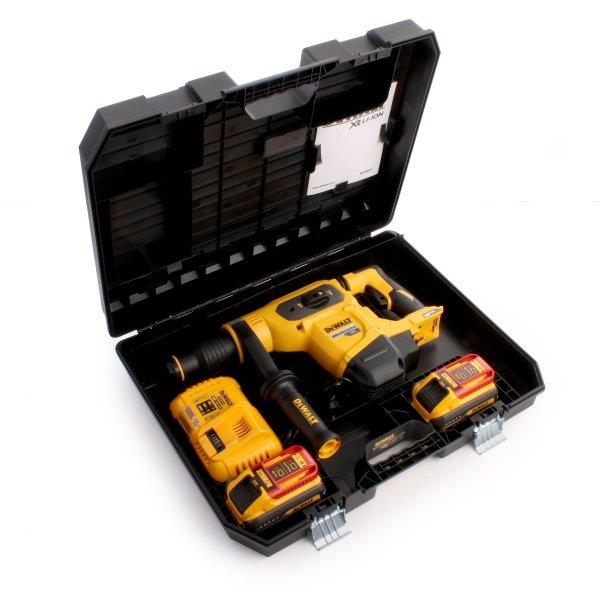 Młotowiertarka DeWalt DCH481X2 54V 6,1J XR FLEXVOLT 3-funkcyjna SDS-Max, silnik bezszczotkowy