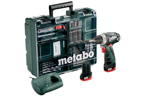 Wkrętarka Metabo PowerMaxx BS Basic Set 600080880