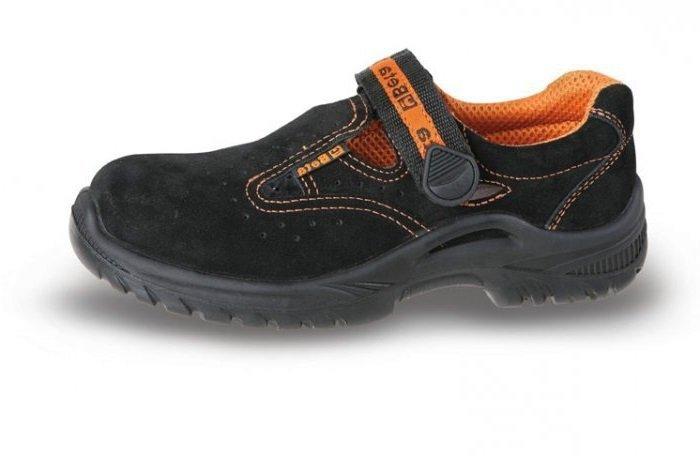 a5781befcf06c Buty robocze ochronne sandały zamszowe Beta 7216BKK rozm. 40-45 ...