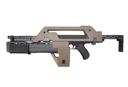 Replika karabinu M41A Pulse Rifle - tan