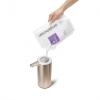Simplehuman - Automatyczny Dozownik do Mydła - Akumulatorowy 266 ml Różowe Złoto