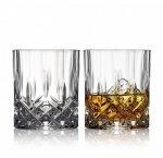 Lyngby Glass MELODIA Kryształowe Szklanki do Whisky, Drinków 310 ml 2 Szt.
