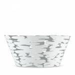 Alessi BARKET Misa - Kosz na Owoce 21 cm Biały