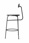 Menu AFTEROOM Stołek Krzesło Barowe 102 cm - Hoker Czarny