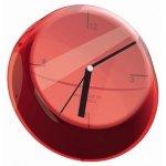 Casa Bugatti GLAMOUR Zegar Ścienny - Czerwony