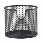 ZONE Denmark BASKET Metalowy Pojemnik - Koszyk do Przechowywania 12 cm Czarny
