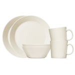 Iittala TEEMA Zestaw Porcelany Śniadaniowej 6 El. Biały