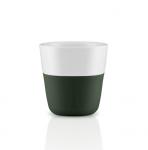 Eva Solo Filiżanki do Kawy Espresso 80 ml 2 Szt. Leśna Zieleń