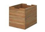 Skagerak CUTTER BOX Pudełko do Przechowywania Duże - Drewno Tekowe