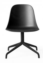Menu HARBOUR SIDE Krzesło Obrotowe - Rama Czarna - Siedzisko Czarne