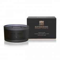 Rathbornes LUXURY Naturalna Świeca Zapachowa 390 gram DUBLIN DUSK