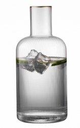 Lyngby Glass PALERMO Karafka do Wody 1,5 l Złota