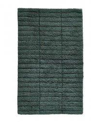 ZONE Denmark TILES Dywanik Łazienkowy 80x50 cm Ciemnozielony Pine Green