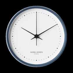 Georg Jensen KOPPEL Zegar Ścienny 22 cm Niebieski