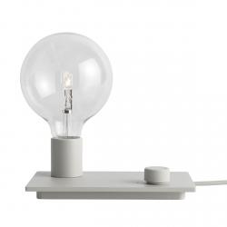 Muuto CONTROL Lampa Stołowa LED Szara
