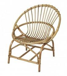 Broste Copenhagen FRIDA Fotel - Krzesło Rattanowe