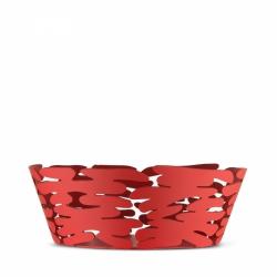 Alessi BARKET Misa - Kosz na Owoce 18 cm Czerwony