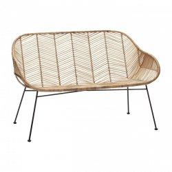 Hübsch LOUNGE Sofa Ratanowa - Naturalna