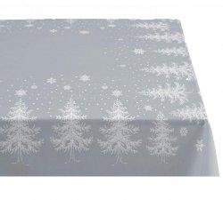 Sodahl CHRISTMAS WINTERLAND Obrus Świąteczny na Stół 150x220 cm Szary