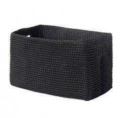 ZONE Denmark BASKET Organizer - Kosz do Przechowywania 22 cm Czarny