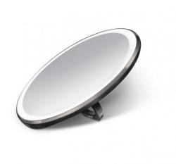 Simplehuman SENSOR Podręczne Lusterko Sensorowe 10 cm Czarne
