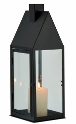 Philippi HUS Lampion 40 cm Czarny