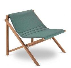 Skagerak AITO LOUNGE CHAIR Fotel Składany - Oliwkowy