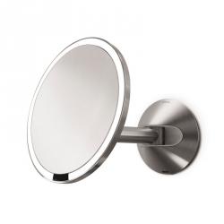 Simplehuman SENSOR Powiększające Lustro Sensorowe Bezprzewodowe - Do Makijażu - Ścienne