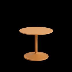 Muuto SOFT SIDE Stolik Okrągły 40 cm Pomarańczowy / Blat 48 cm Laminat