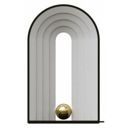Aytm CASTELLUM Lampa Stołowa LED Czarna