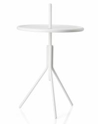 ZONE Denmark INU Okrągły Stolik Pomocniczy - Biały