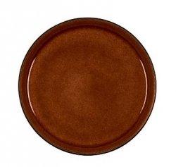 Bitz GASTRO Talerz Obiadowy 21 cm 6 Szt. Czarny - Środek Amber